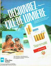 PUBLICITE ADVERTISING 016  1982  Les Guides Bleus Hachette Thaiti polynésie