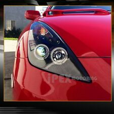 "2000-2005 Toyota Celica ""Twin Halos"" Projector LED Headlights Black - IN STOCK"
