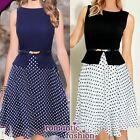 ♥Größe 34-42 Sommerkleid, Abendkleid Party mit Gürtel+Blau oder Schwarz+NEU♥