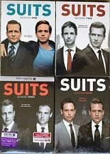 Suits Complete Season 1-4 Bundle Collection DVD Set Series TV Show Episodes Lot