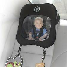 Prince Lionheart Baby / Child View Mirror Black / Grey - For Rear Facing Seat