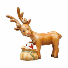 Goebel Weihnacht Rentier Heimlich naschen  Weihnachtsfabrik Wichtelwerkstatt Neu