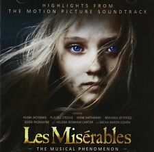 LES MISERABLES - MOTION PICTURE SOUNDTRACK: CD ALBUM (2013)