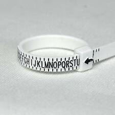 NEW BEAUTIFUL RING SIZER GAUGE, MEASURES FINGER SIZE A TO Z