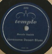 RARE 78 Rpm Record Bessie Smith Lonesome Desert Blues / Golden Rule Blues