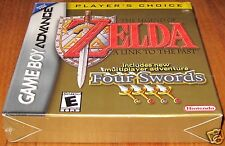 Legend of Zelda A Link to the Past w/ Four Swords- Game Boy Advance- NEW!