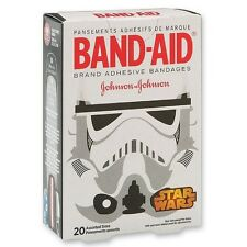 BAND-AID Adhesive Bandages, Star Wars Collection, Assorted 20 ea