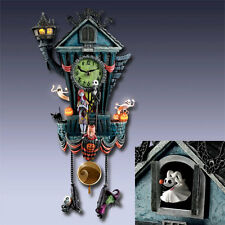 Tim Burton NBX NIGHTMARE BEFORE CHRISTMAS Cuckoo Clock NEW