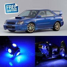 Blue LED Lights Interior Package Kit For 2004-2015 Subaru Impreza WRX STI