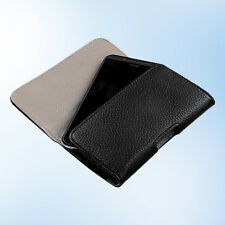 For BlackBerry Z10, Sony Xperia Z3, HTC One SV S Pouch Case Belt Loop Clip Cover