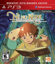 Ni no Kuni Wrath of the White Witch ~ PlayStation 3 ~ Brand New & Factory Sealed