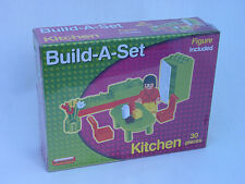 KITECH  FURNITURE - BUILD-A-SET 30 PIECE WITH FIGURE