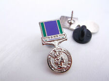 GSM GENERAL SERVICE MEDAL GULF HM H M ARMED FORCES BRITISH ARMY LAPEL PIN BADGE