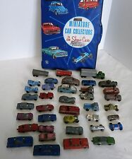 Huge Lot of 37+ Vintage 1960's TootsieToy Midgetoy etc Die-Cast Cars with Case