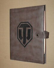 World of tanks warships Cuir-Carnet/Bloc-notes/Notebook rare Gamescom
