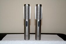 ROYER R-121 PROFESSIONAL STUDIO DYNAMIC RIBBON MICROPHONES CONSECUTIVE S/N PAIR