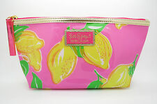 New! Estee Lauder Lilly Pulitzer Cosmetic Makeup Vinyl Waterproof Bag Pouch Case
