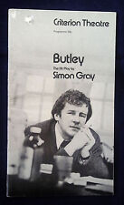 BUTLEY by Simon Gray Criterion Theatre Programme 1972