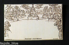 One Penny Postage Mulready Envelope - Reproduction Facsimile