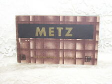 METZ POSTCARD BOOKLET COLOR PICTURES OF FRANCE 20 POSTCARDS UNCIRCULATED 1930'S