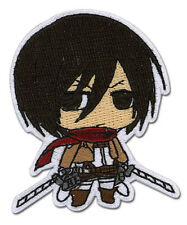 **License** Attack on Titan Mikasa Ackerman Iron On Patch #44793