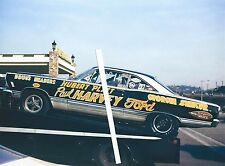 "1960s NHRA Drag Racing-Hubert Platt's 427 S/S Ford Fairlane ""GEORGIA SHAKER"""