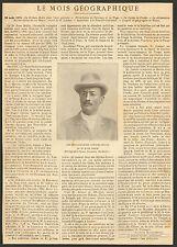 SVEN HEDIN ZINDER NOUVELLE-CALEDONIE TOGO BENIN ARTICLE PRESSE 1901