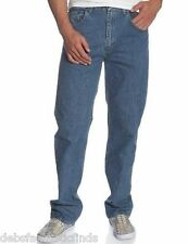 NEW Men's Wrangler Relaxed Fit Jeans Waist 30-33 x 30,32,34 Inseam SEE SIZES
