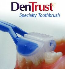 DenTrust 3-Sided Toothbrush :: Specialty Toothbrush For AUTISM and Special ::