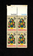 SCOTT # 1508 Christmas Issue United States U.S. Stamps MNH - Plate Block of 4