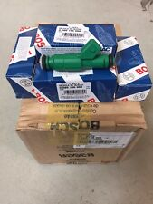 4x Genuine Bosch 42lb Green Giant Fuel Injectors 42 lb/hr Turbo 1.8T 2.3T 440cc
