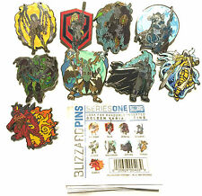 Blizzard Blizzcon 2014 Series 1 Pin Complete Set of 9! Finish 2015-2016 2 & 3!