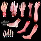 Halloween Horror Bloody Lifesize Props Haunted House Scary Decorations Set 13pcs