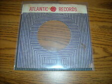 45RPM COMPANY SLEEVE.  LOT OF ONE. ATLANTIC.  BLACK & RED.
