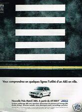 Publicité advertising 1998 VW Volkswagen Polo Match