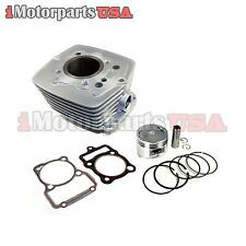 CYLINDER PISTON REBUILD KIT HONDA CG175 CG200 AIR COOLED 175 200CC PIT BIKE ATV