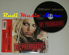 CD Singolo BRITNEY SPEARS My prerogative 2004 eu 82876 65253 2  (S1*) mc dvd