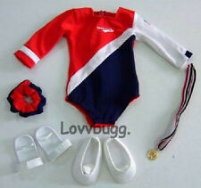 """Gymnastics 7pc Complete Full Set for 18"""" American Girl Doll Clothes Selection!"""