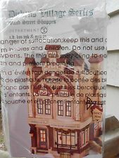 DEPT 56 DICKENS' VILLAGE Bond Street Shops C.D. BOZ INK & PEN CO. *Still Sealed*