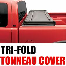 Lock Tri-Fold Soft Tonneau Cover 02 08 Dodge Ram Pickup Truck 6.5' Short Bed