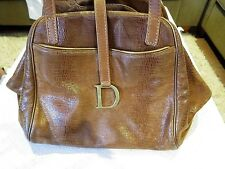 Authentic CHRISTIAN DIOR leather Shoulder Bag