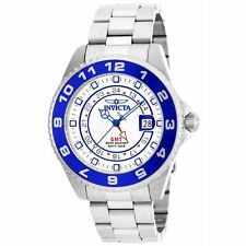 Invicta 17123 Men's Pro Diver White Dial Steel GMT Dive Watch
