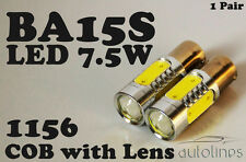 BA15S CREE LED 7.5W 1156 White Car Signal Reverse Break Tail Light Bulbs Globes