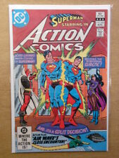 ACTION COMICS #534 NM (9.4) DC BRIAN BOLLAND COLLECTION WITH SIGNED CERT