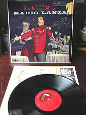 MARIO LANZA  THE  STUDENT  PRINCE  RCA RED SEAL LM 2339 ORIG.  EX  EX