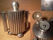 Ancien pyrogene briquet de table en metal argenté début XX ème