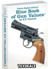 Blue Book of Gun Values 38th Edition 2017 Gun STORE Collector Pawn Broker RESELL