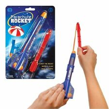 PARACHUTE ROCKET FLYING SPACE CATAPULT BOYS TOY XMAS CHRISTMAS STOCKING FILLER
