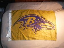 NEW Official 2016 Baltimore Ravens Color Rush Flag 11/10 SGA Gold Purple Flag