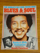 BLUES AND SOUL MUSIC MAG #332 1981 RANDY CRAWFORD DISCO